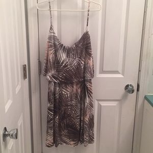 H&M Flounce Jersey Mini Sundress SO SOFT